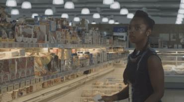 E10-Nana Yaa at supermarket