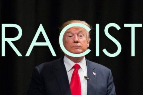 Image result for trump racist