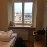 My private room at the Hostel Safestay in Warsaw