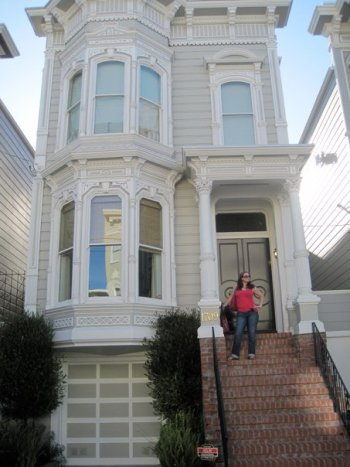 Visit The Full House Exterior