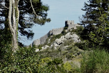 The Castle on the Moors, Sintra, Portugal