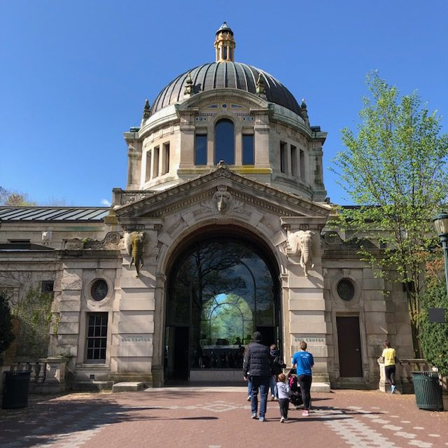 The main gate at the Bronx Zoo