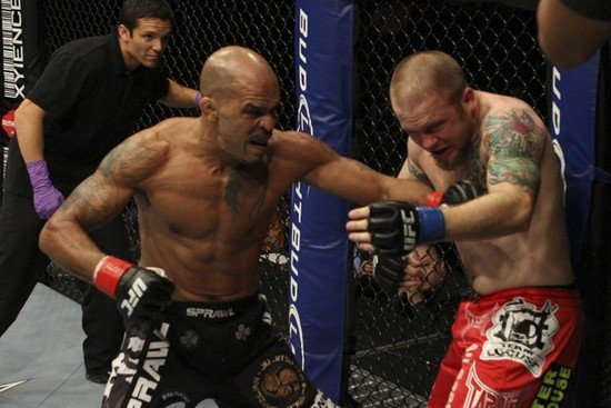 Jorge Rivera vs Rob Kimmons UFC 104
