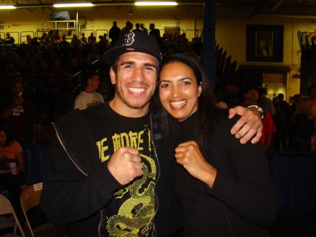 Kenny Florian, UFC Fighter, and Cheryl Ragsdale