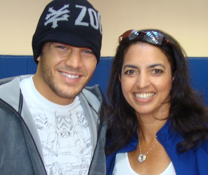 Patrick Cote, UFC Fighter and Cheryl Ragsdale