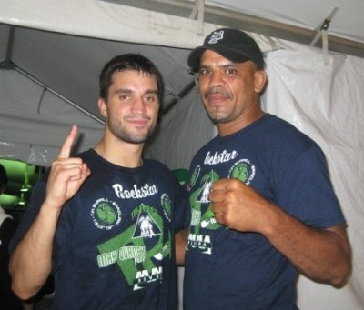 Matt Phiney boxing trainer and Jorge Rivera UFC fighter