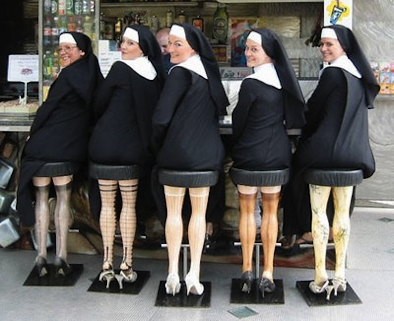 Which Nuns Would You Kick Off the Bus? (10 Photos ...