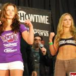 Contender Rousey Favored 4 to 1 Over Champion Tate