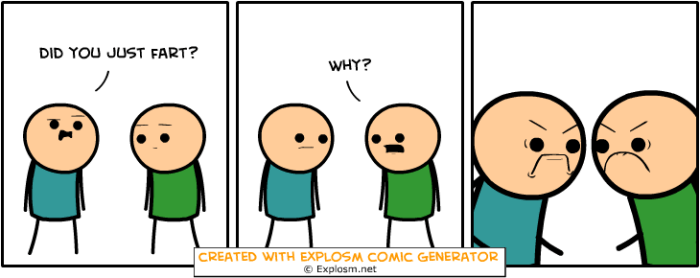 did you just fart fights explosm