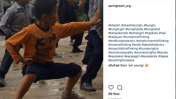 SpringHeart Warriors Teach Martial Arts to Kids in Danger of Being Trafficked, Exploited or Enslaved Trafficked, exploited and enslaved are terrifying words. But these words describe a very real danger that young people face.