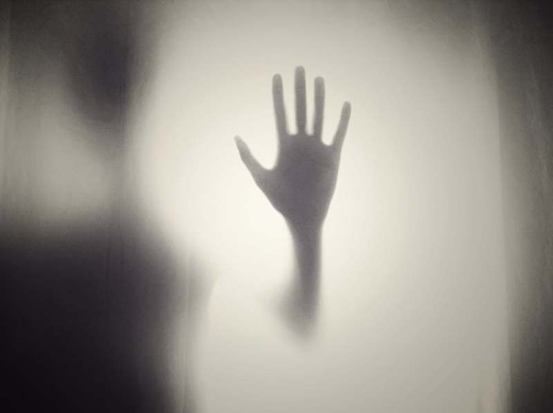 unsplash creepy wally hand foggy background