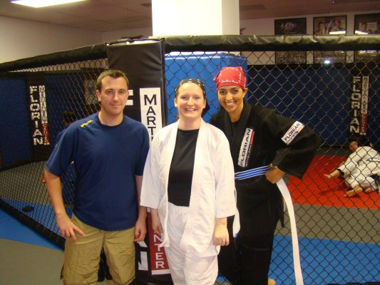 Peter Hayley Cheryl at Florian Martial Arts Center