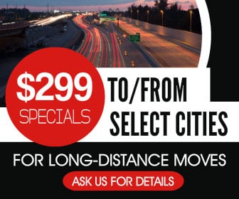 $299 Specials on Long Distance Moves with Kelowna movers, That Guy Van Lines
