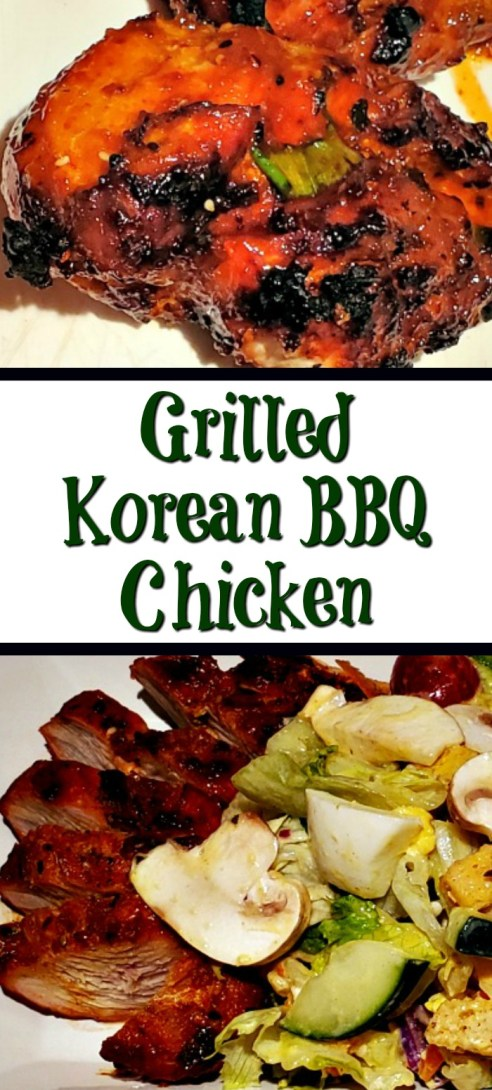 Dinner This Grilled Korean BBQ Chicken Recipe is perfect to put together using Spicology seasonings! Makes a great weeknight dinner to grill on the bbq