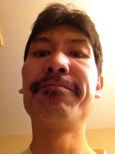 Lam Tang's November 30 Movember Moustache