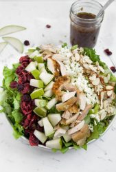 Fall Salad with homemade Balsamic dressing 2