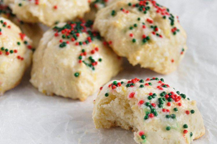 Italian Lemon Drop cookies