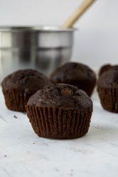 Chocolate Zucchini Muffins 35-Minutes