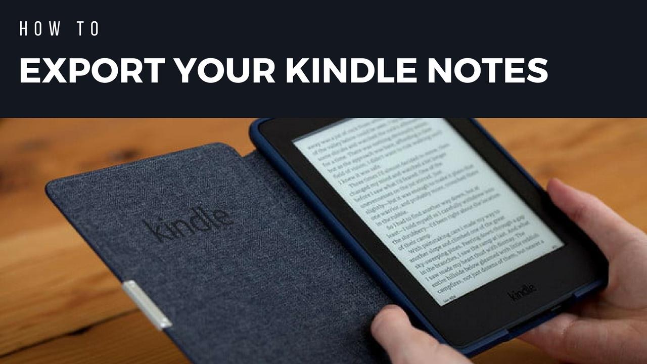 Download Kindle Highlights