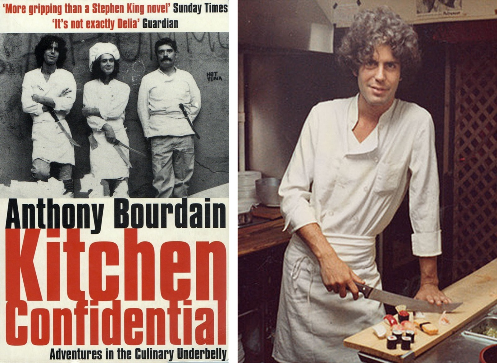 Check Out Anthony Bourdain In The Early Days