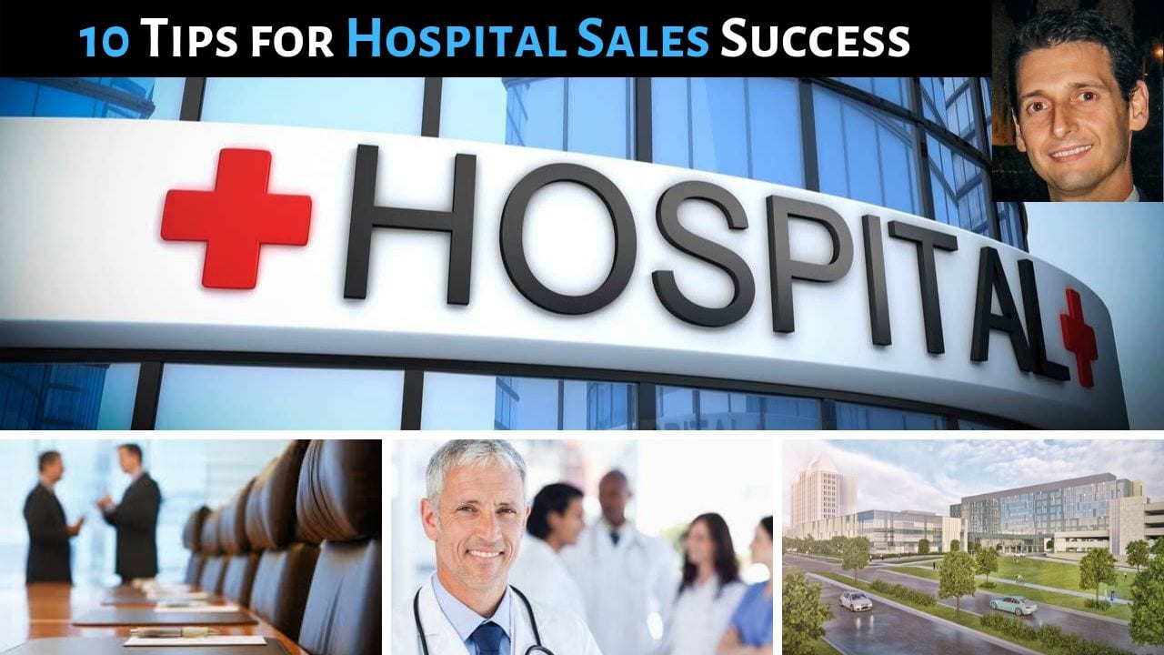 10 Tips for Hospital Sales Success