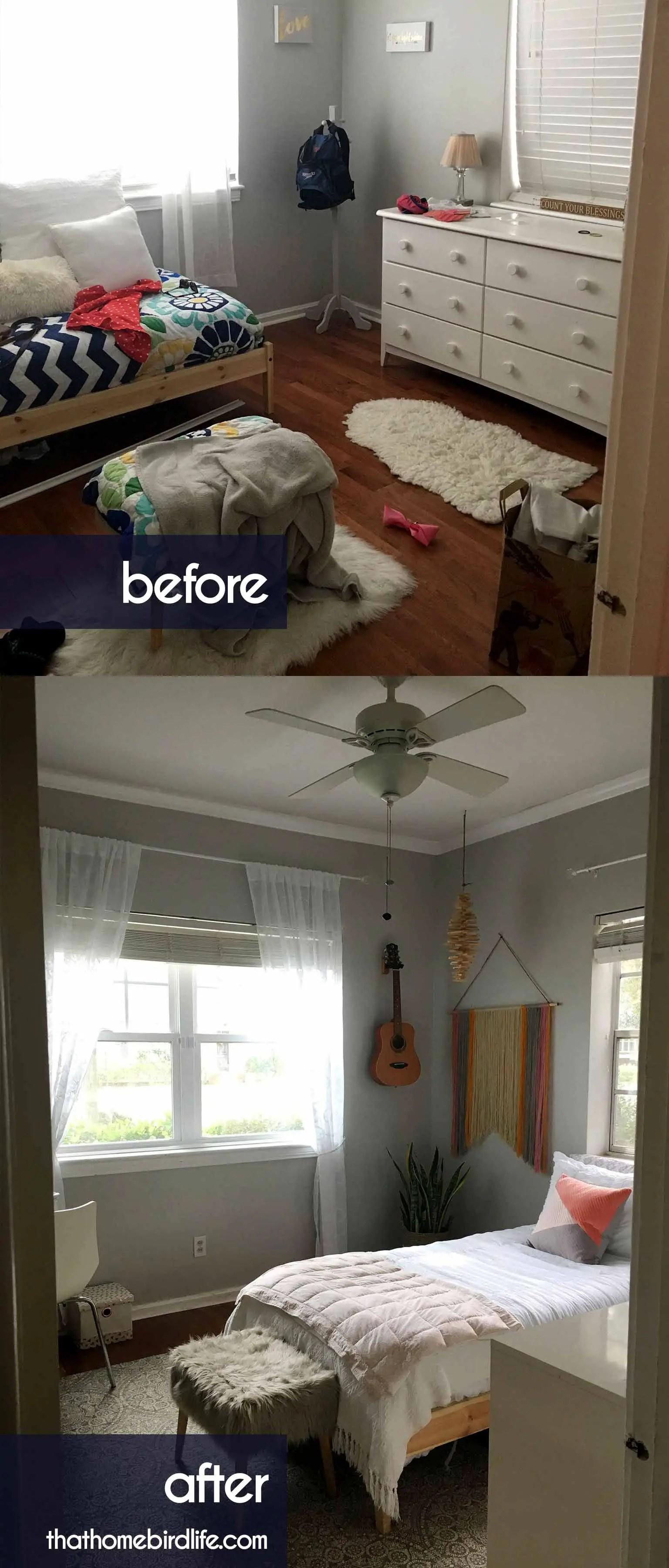 A Modern Boho Tween Bedroom Makeover on a Budget on Boho Bedroom Ideas On A Budget  id=43220