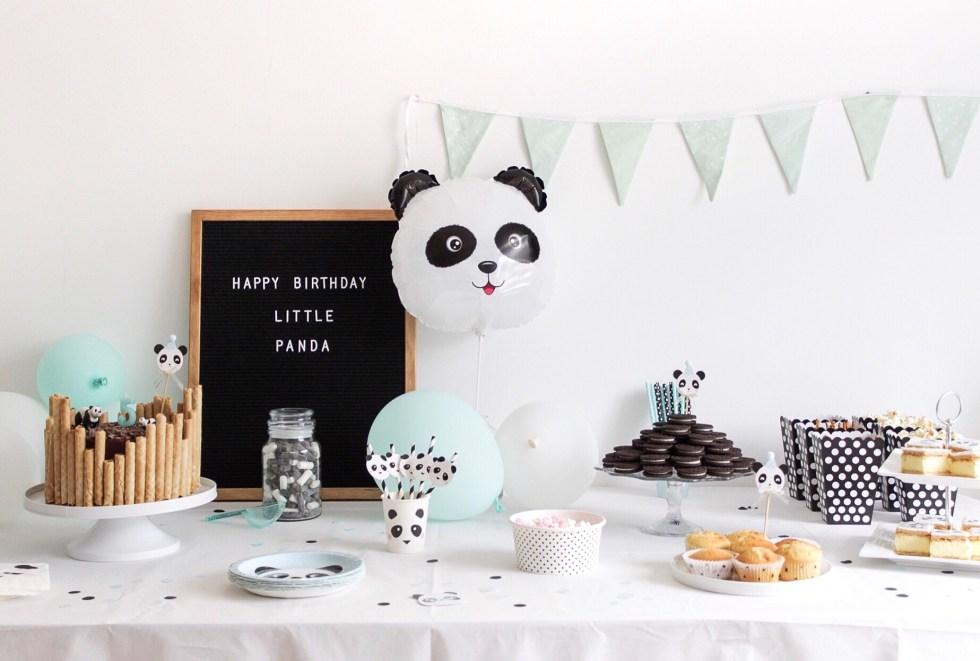 pandataart, kinderfeestje, sweet table, kinderverjaardag, Hema dripcake, taart decoreren, taart versieren, taart maken
