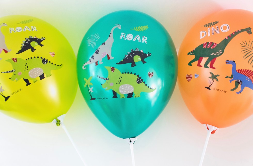 dino, dinosaurus, dinofeestje, dino party, dino ballonnen, feestdecoratie, party decor, kinderfeestje, dino balloons, inspiratie, thathomepage, (th)athomepage, mamablog, kids party