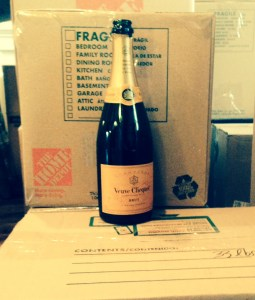 poppin' champagne?