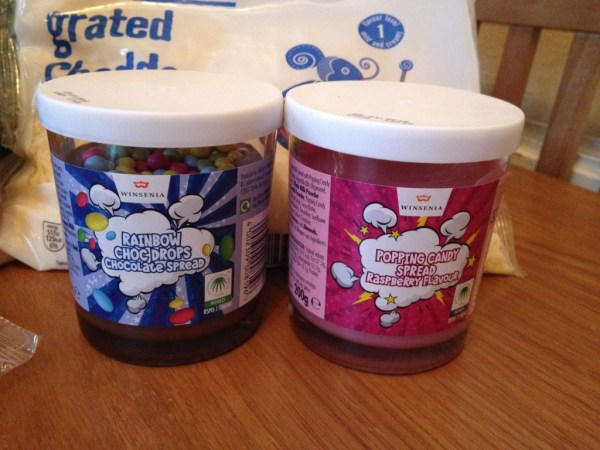 special buy spreads available at Aldi for Pancake Day