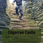 Easter Egg Hunt at Cilgerran Castle, Cardigan