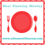 Meal planning Monday 11.04.16