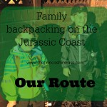Our backpacking adventure: Route