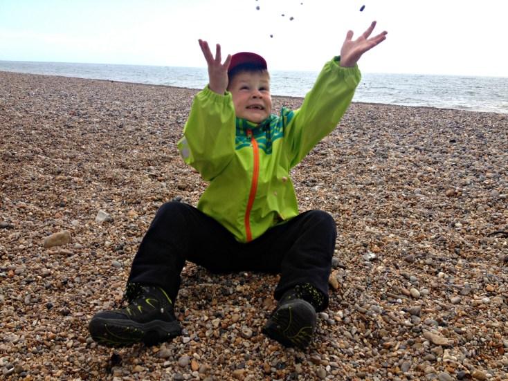 Rowan pebbled beach