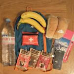 Packing for a day out walking