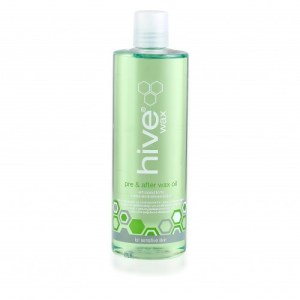 PRE & AFTER WAX OIL WITH COCONUT & LIME 400ML