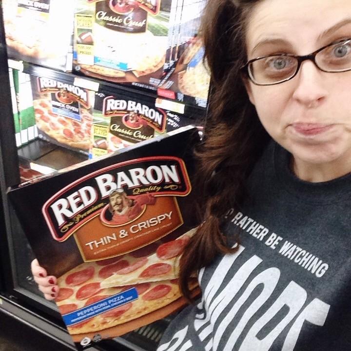 red baron selfie
