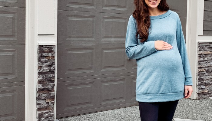 """Halfway There"" Maternity Style"