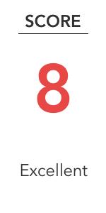 8 Excellent