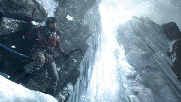 The icy climb. (Crystal Dynamics)