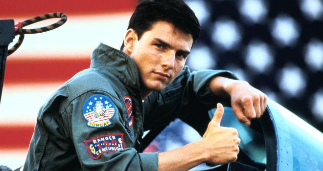 Tom Cruise (Top Gun, 1990©Paramount Pictures)