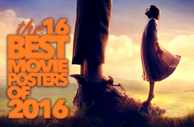 16 Best Movie Posters Of 2016