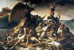 Géricault's Raft of Medusa (1818-1819) Louvre