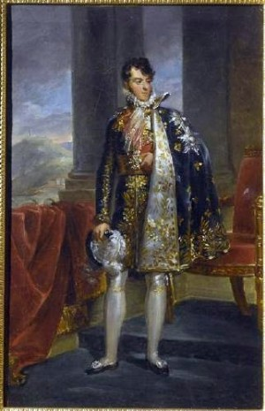 Portrait of Prince Camillo Borghese, by Francois Gerard (1770-1837) location unknown