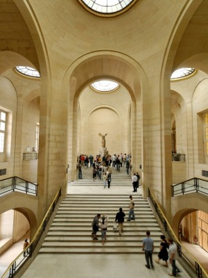 Louvre's Daru Staircase
