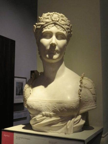 Marble bust of Empress Josephine from the V&A Collection 1808 Joseph Chinard