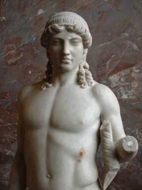 Apollo, Roman Copy of a Greek original statue of Apollo
