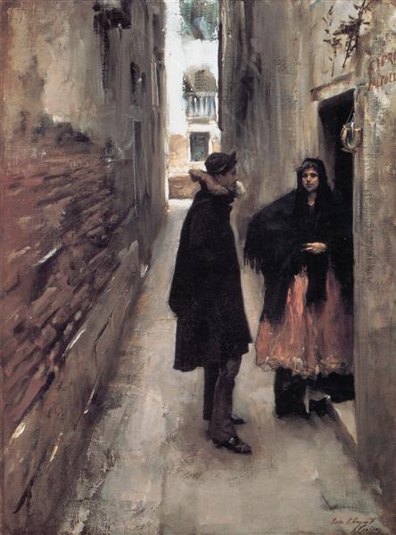 A Street in Venice, 1880