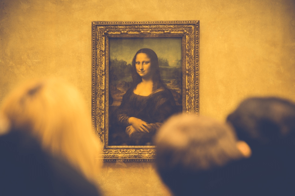 a picture of the Mona Lisa
