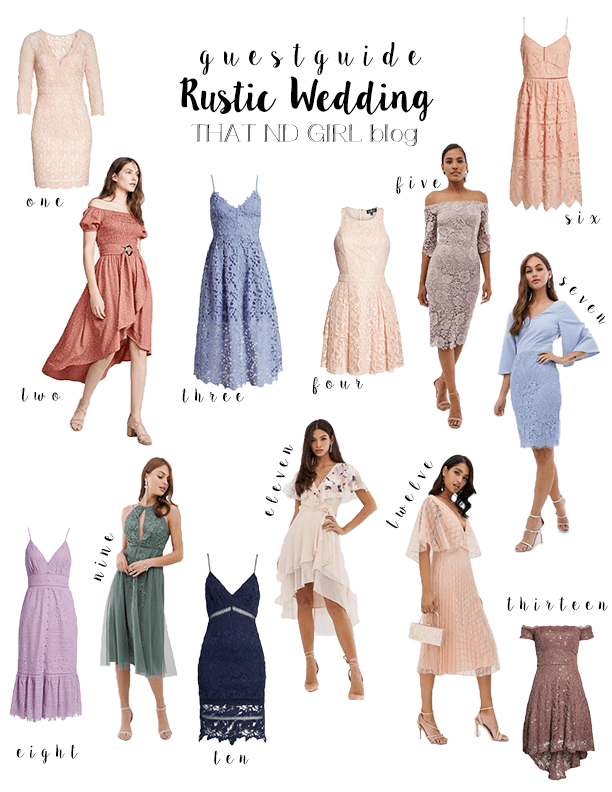 Rustic Wedding Guest Guide 2019 , That ND Girl